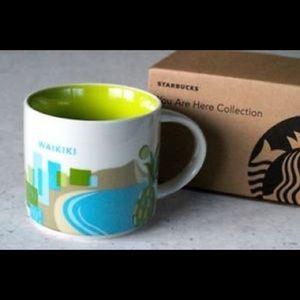 Waikiki Starbucks collection you are here series